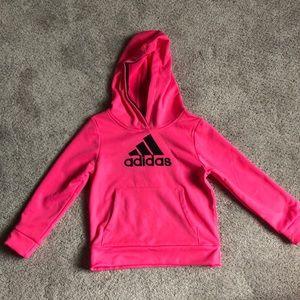 Girls ADODAS Pink Hoodie - 4